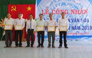 Công nhận xã Hiệp Xương đạt chuẩn văn hóa nông thôn mới