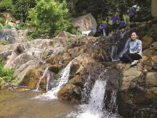 Những dòng suối đẹp như tranh vẽ vùng Bảy Núi