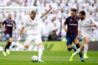 Benzema lập cú đúp, Real thắng kịch tính Levante