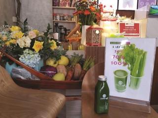 Biến rau, củ, quả thành thức uống bổ dưỡng