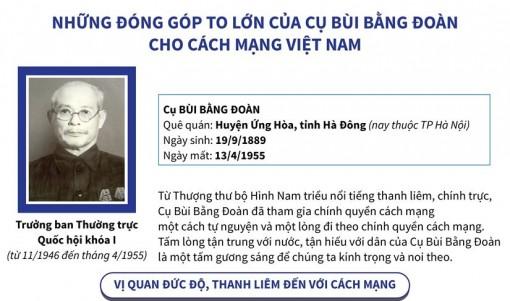 Đóng góp của cụ Bùi Bằng Đoàn cho cách mạng Việt Nam