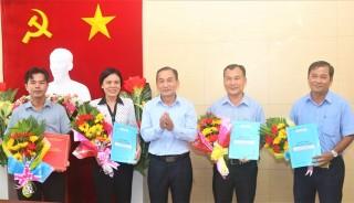 Châu Đốc: Trao quyết định cán bộ thuộc diện Ban Thường vụ Thành ủy quản lý