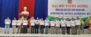 Thu nhập bình quân đầu người của nông dân Châu Phú đạt trên 50 triệu đồng/năm