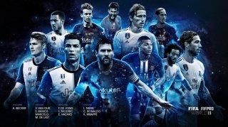 """Tranh cãi xung quanh đội hình tiểu biểu giải thưởng """"The Best 2019"""" của FIFA"""