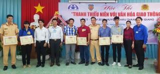 Châu Thành nâng cao ý thức an toàn giao thông cho thanh niên