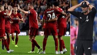 Liverpool sẽ bị loại khỏi Cúp Liên đoàn Anh vì sử dụng cầu thủ không hợp lệ