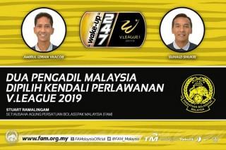 Trọng tài nội gây họa, VPF thuê 2 trọng tài Malaysia bắt V-League