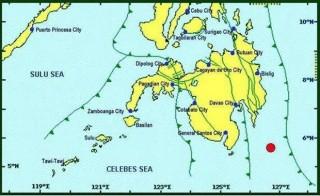 Philippines: Động đất 6,4 độ làm rung chuyển tỉnh Davao Occidental