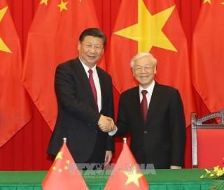 Lãnh đạo Việt Nam chúc mừng 70 năm Quốc khánh Trung Quốc