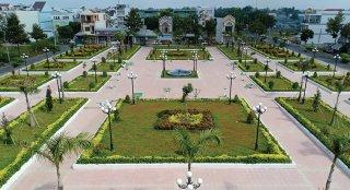 Thị trấn Phú Mỹ: Khởi công công trình chào mừng Đại hội Đảng bộ thị trấn