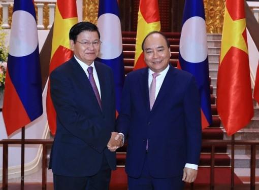 Quan hệ đoàn kết đặc biệt Việt-Lào phát triển ngày càng sâu rộng