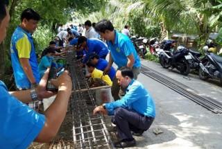 Công đoàn chung sức xây dựng nông thôn mới