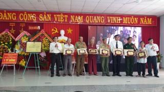 Xã Anh hùng Nhơn Hưng đạt chuẩn nông thôn mới