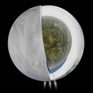"""Phát hiện """"tiền đề"""" cho sự sống trên mặt trăng băng giá của sao Thổ"""