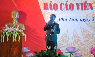 Hội thi báo cáo viên giỏi huyện Phú Tân