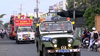 """Phú Tân hưởng ứng """"Ngày toàn dân phòng cháy chữa cháy"""" -  4-10"""