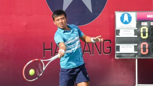 Lý Hoàng Nam vào bán kết ITF World Tennis Tour, chạm trán đối thủ Trung Quốc