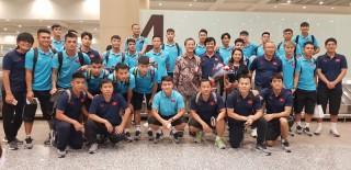 Đội tuyển Việt Nam đã đến Indonesia, sẵn sàng quyết chiến đội chủ nhà