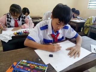 Châu Phú  tổ chức Hội thi vẽ tranh dành cho thiếu nhi