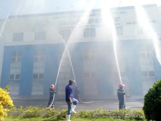Diễn tập phòng cháy, chữa cháy tại Công ty Cổ phần Chế biến – Xuất nhập khẩu thủy sản Hòa Phát