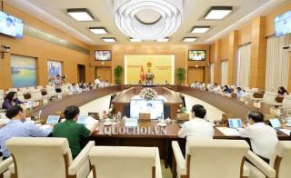 Hôm nay bắt đầu phiên họp thứ 38 của Ủy ban Thường vụ Quốc hội