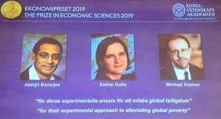 Giải Nobel Kinh tế 2019 vinh danh nghiên cứu xóa đói giảm nghèo