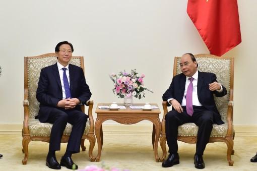 Thủ tướng tiếp Bộ trưởng Nông nghiệp, Nông thôn Trung Quốc