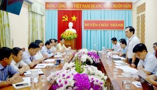 Kiểm tra công tác cải cách hành chính tại Châu Thành