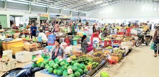 Chính thức khởi công mở rộng tuyến lộ mới Hòa Thạnh, đất nền chợ Cái Sắn sôi động người mua