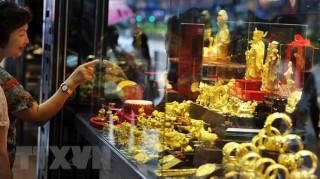 Giá vàng châu Á ổn định chiều 17-10