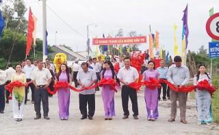 Châu Phú xây dựng nông thôn mới
