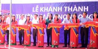 Bí thư Tỉnh ủy Võ Thị Ánh Xuân dự Lễ khánh thành Trường Mầm non Long Sơn