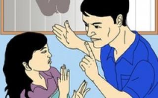 'Con mong bố mẹ đừng cãi nhau nữa'