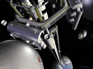 Thang máy kết nối Trái Đất với vũ trụ?