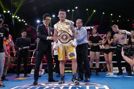 Trương Đình Hoàng xuất sắc hạ đối thủ Hàn Quốc, giành đai vô địch WBA