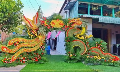 Mãn nhãn với cổng cưới lá dừa