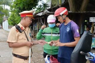 Xử phạt 1.119  trường hợp vi phạm trật tự an toàn giao thông