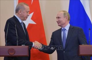 Nga và Thổ Nhĩ Kỳ đạt thỏa thuận về Syria