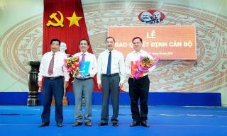 Điều động, chỉ định Bí thư Đảng ủy khối Cơ quan và Doanh nghiệp tỉnh Huỳnh Quốc Thái giữ chức Phó Bí thư Thị ủy Tân Châu