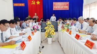 HĐND huyện Châu Phú tổ chức kỳ họp lần thứ 13 bất thường