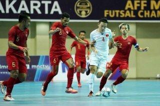 Tuyển Việt Nam thua Thái Lan, lỡ cơ hội đá chung kết AFF Futsal Championship