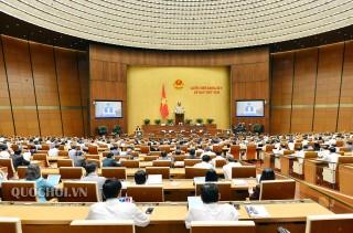 Quốc hội thảo luận về Luật sửa đổi, Bổ sung một số điều của Luật Tổ chức Chính phủ và Luật Tổ chức chính quyền địa phương