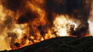 'Giặc' lửa hoành hành, California (Mỹ) cuống cuồng sơ tán người dân