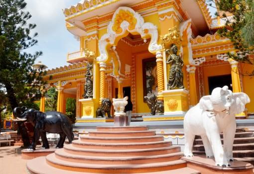Độc đáo kiến trúc chùa Tây An