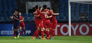 VCK U.19 nữ châu Á 2019: Hạ chủ nhà Thái Lan 2-0, Việt Nam khởi đầu thuận lợi