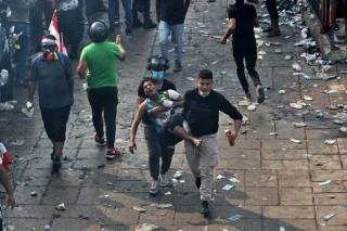 Nhiều kẻ bịt mặt xả súng sát hại 18 người biểu tình ở Iraq