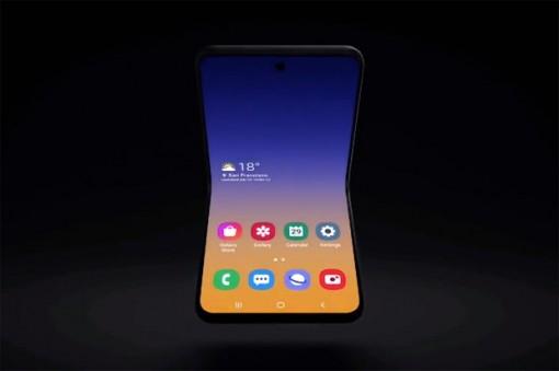 Samsung giới thiệu bản dựng mẫu điện thoại màn hình gập mới