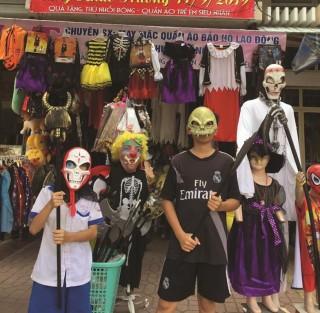 Rộn ràng lễ hội Halloween