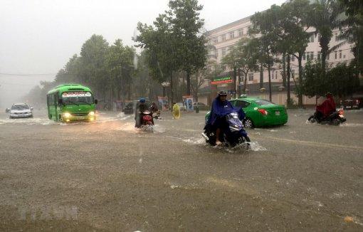 Từ đêm 31-10, Nghệ An đến Thừa Thiên-Huế có mưa rất to