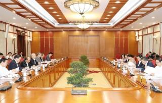 Cho ý kiến về nhiệm vụ của Ban Chỉ đạo TW về phòng chống tham nhũng
